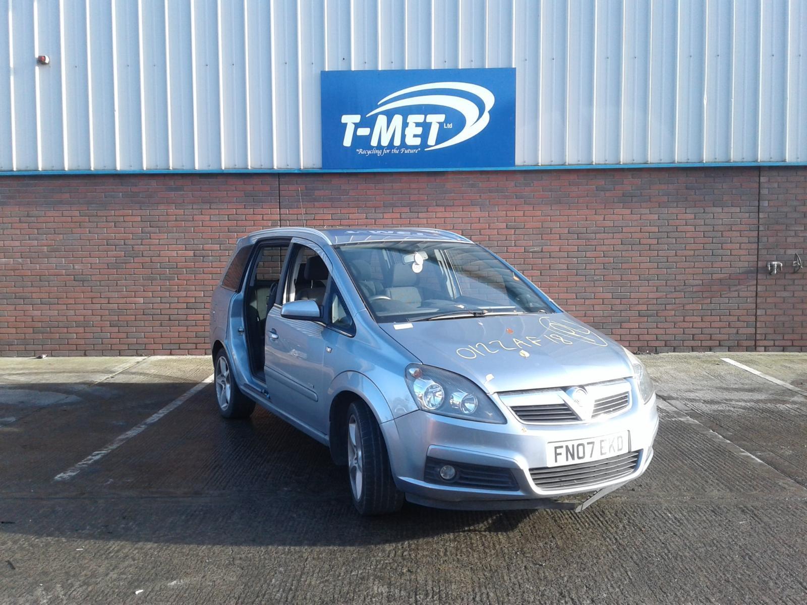 2007 Vauxhall ZAFIRA SRI CDTI Image