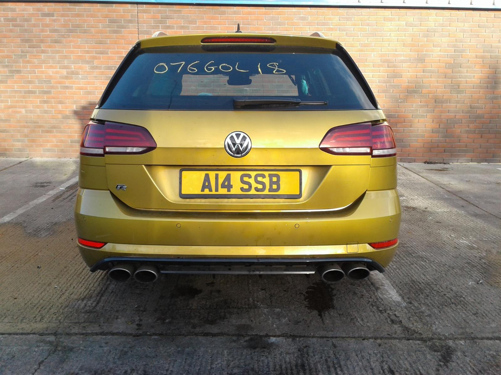 2018 Volkswagen GOLF R TSI DSG Image