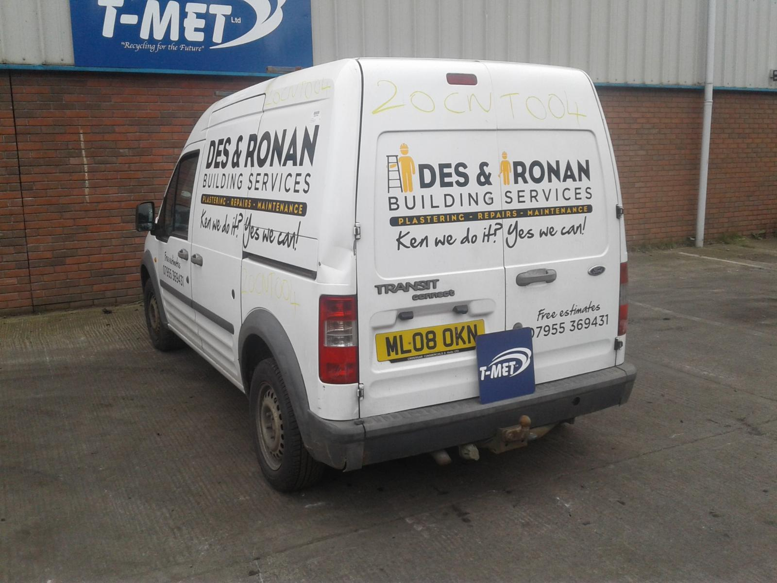 2008 FORD TRANSIT CONNECT Image