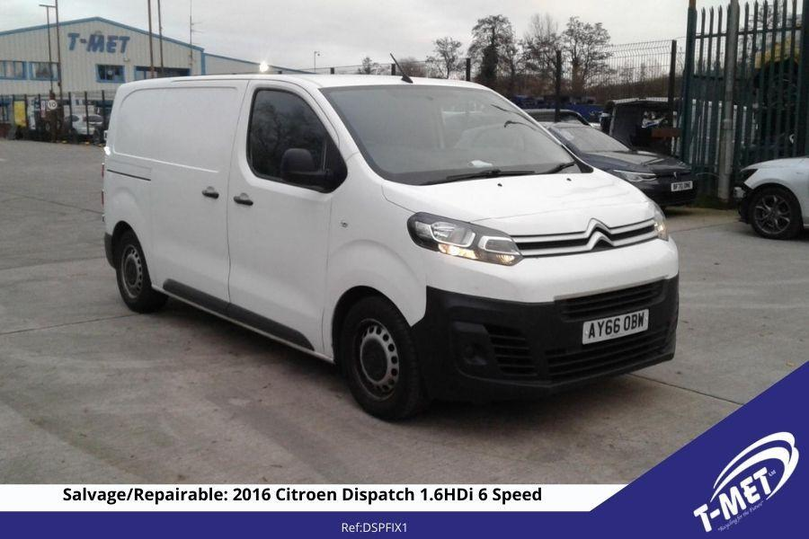 2016 CITROEN DISPATCH FOR SALE £7950 NO VAT ONO Image