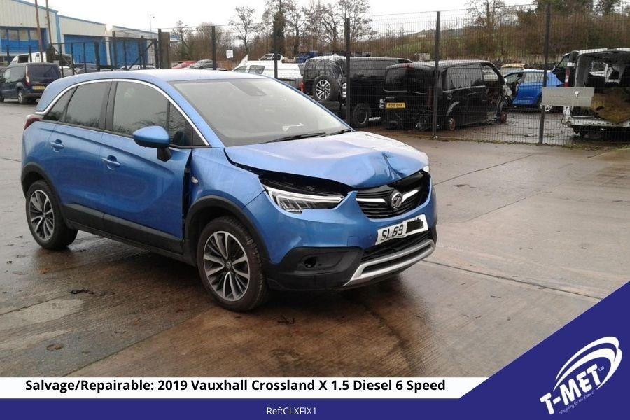 2019 VAUXHALL CROSSLAND X FOR SALE £6950ONO Image