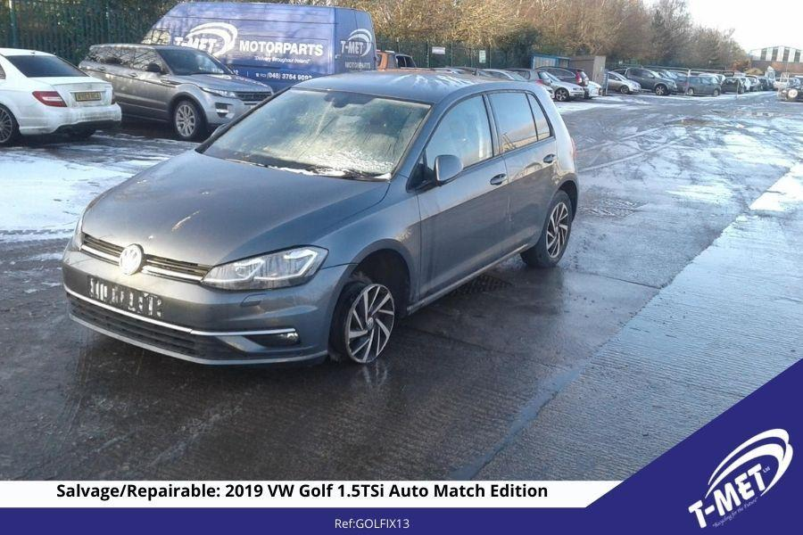 2019 VOLKSWAGEN GOLF AUTOMATIC FOR SALE £11250 ONO Image